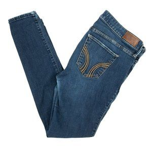 Hollister Jeans Super Skinny Denim Blue 11 30x30